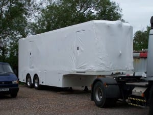 shrink wrap for vehicle protection
