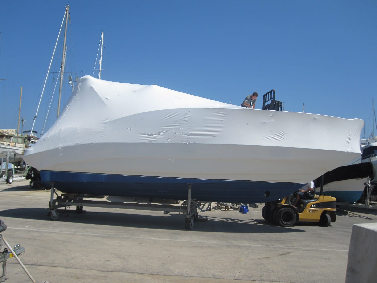 Boat And Industrial Shrink Wrap Frequently Asked Questions