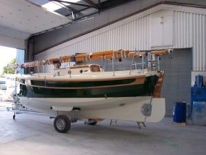 Cornish Crabber shrink wrapped