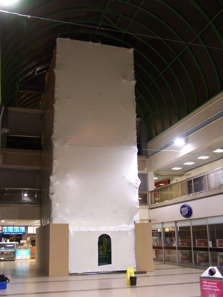 Middleton Shopping Centre Shrink Wrap