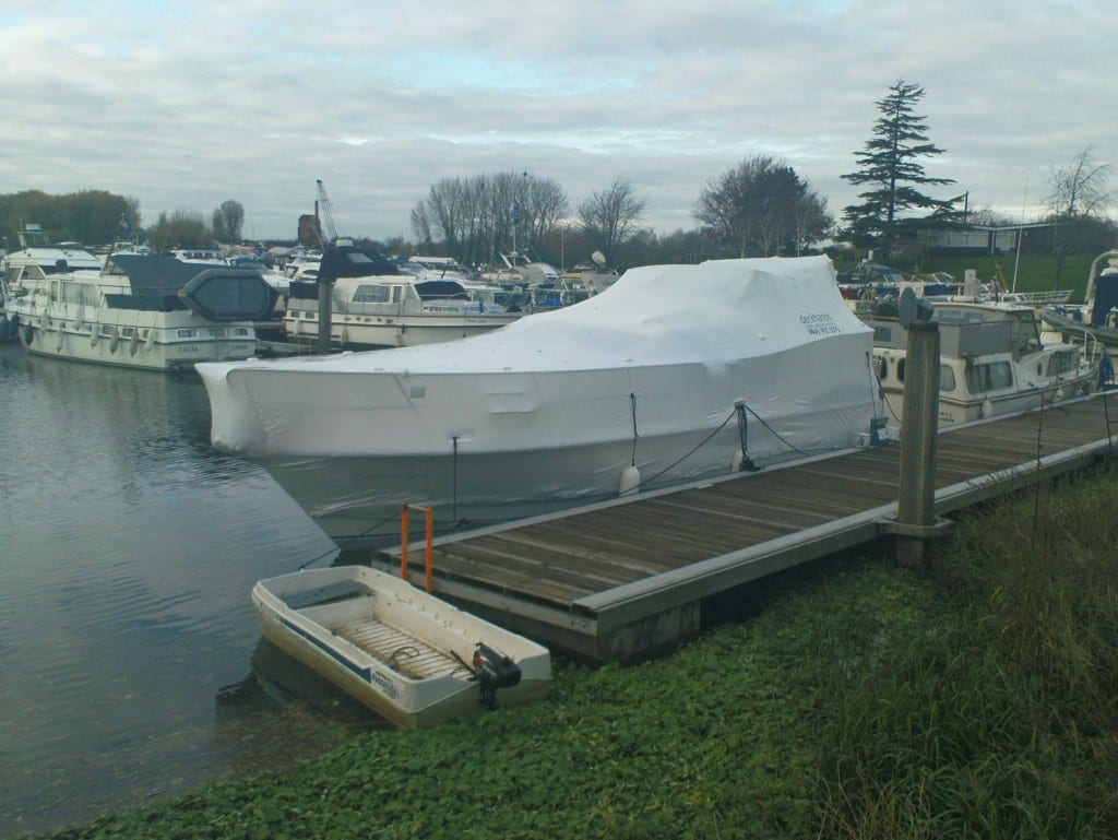 Shrink Wrapping Whilst Afloat