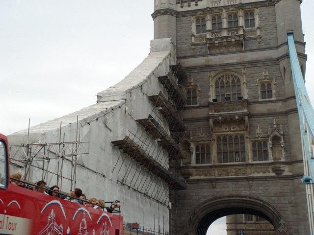 Tower Bridge renovation