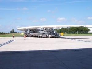 Airbus A380 Superjumbo shrink wrap