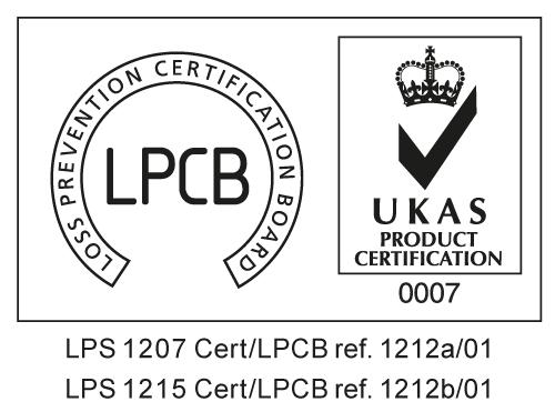 LPS 1207-1215 Cert LPCB