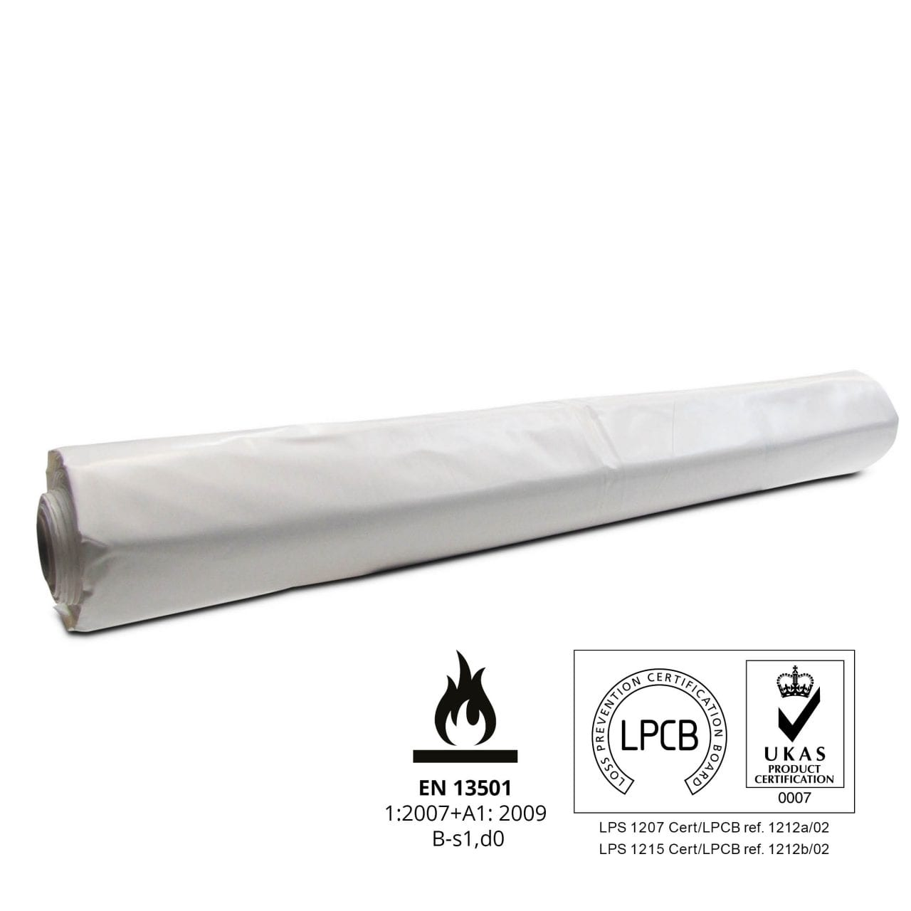 Scaffold shrink-wrap Tufcoat BC08 Flame retardant LPS certified