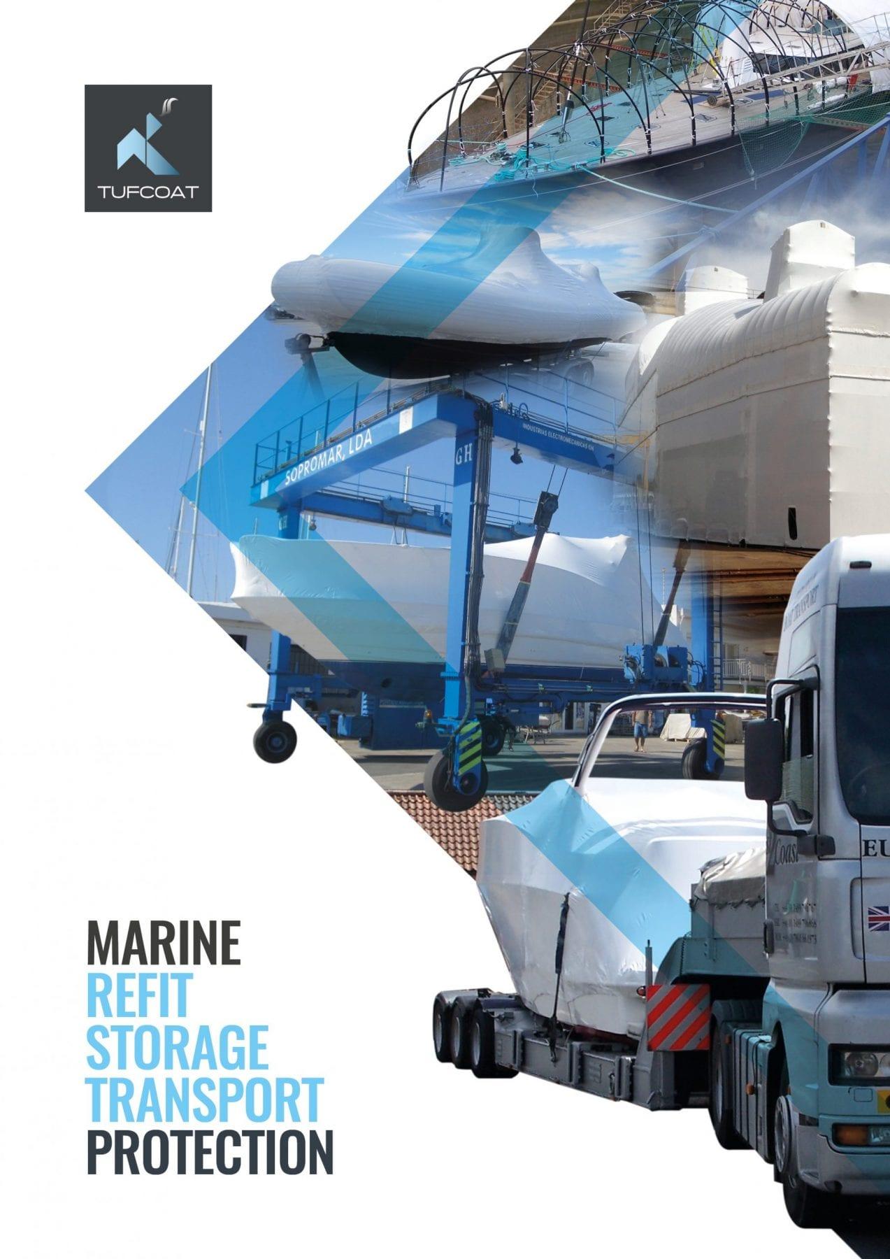 Tufcoat marine shrink-wrap