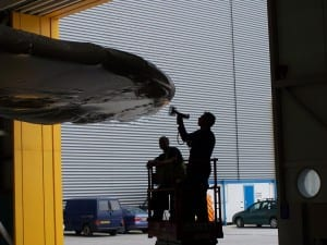 Airbus A380 Custom Shrink Wrap Wing Covers