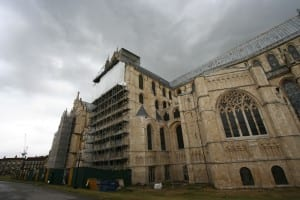 Canterbury Cathedral Stained Glass Window Restoration
