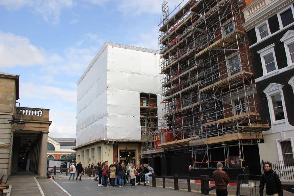 Jubilee Market Hall Scaffold Shrink Wrap - Tufcoat