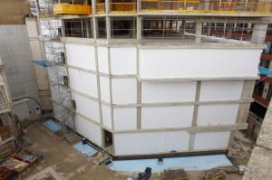 Skanska Concrete Frame Weather Protection