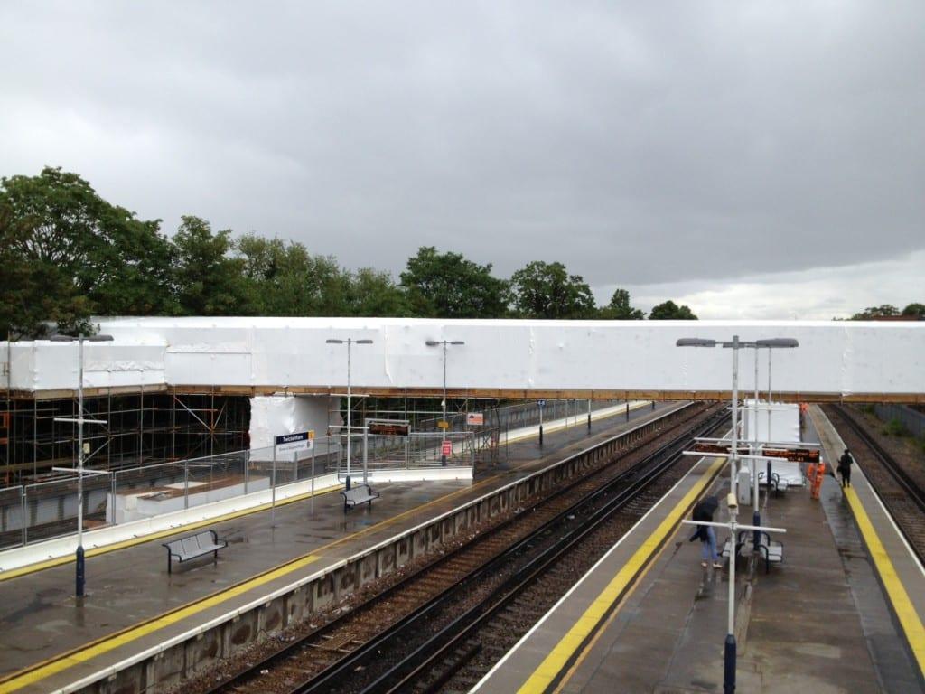 Twickenham Footbridge Encapsulation