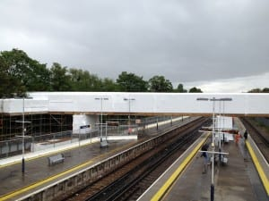 Twickenham Footbridge Encapsulation