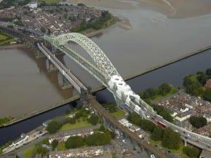 Silver Jubilee Bridge Grit Blasting Containment