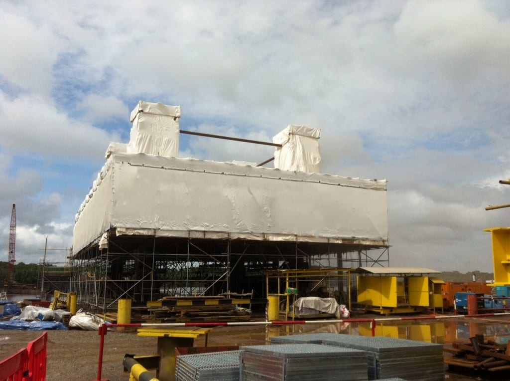 Oil and Gas shrink wrap