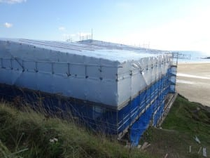 Temporary roofs
