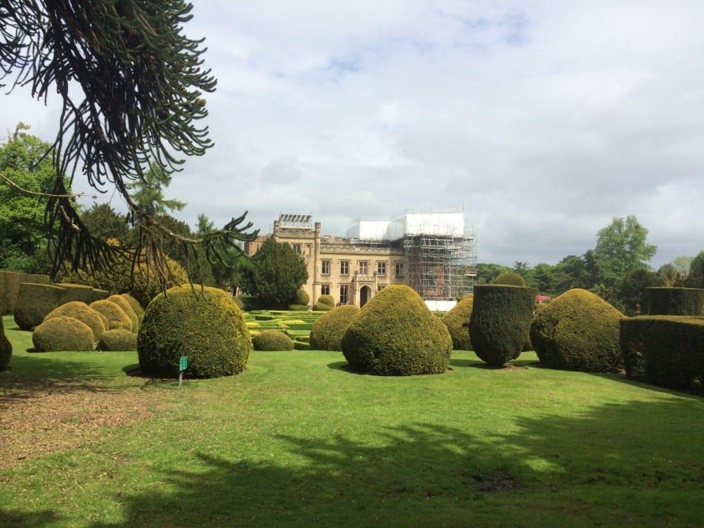 Elvaston Castle Scaffold Shrink Wrap