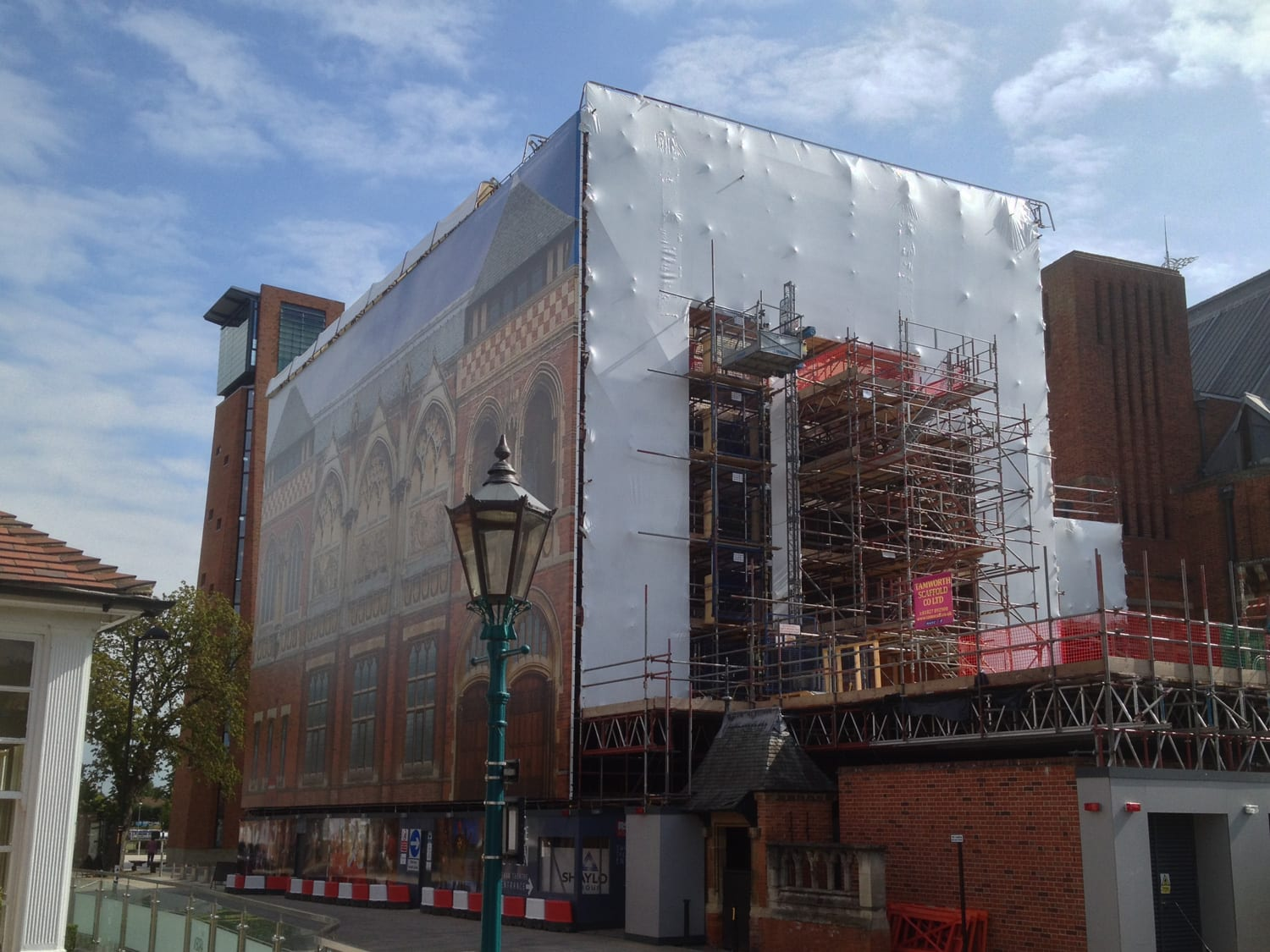 Royal-Shakespeare-Company-Swan-Theatre-Wing-Shrink-Wrap