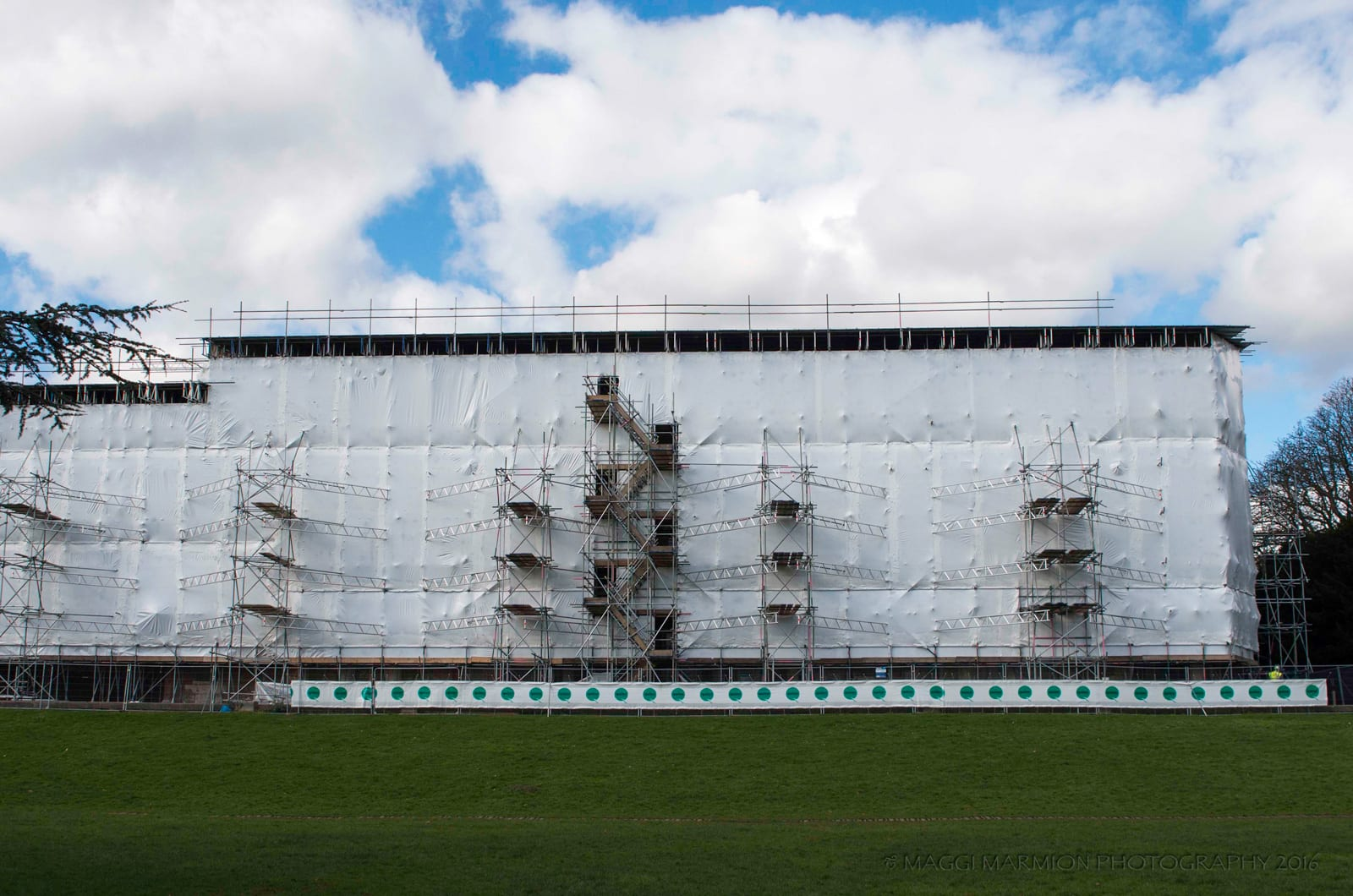 Gunnersbury-House-Tufcoat-Shrink-wrap-Heritage-Project