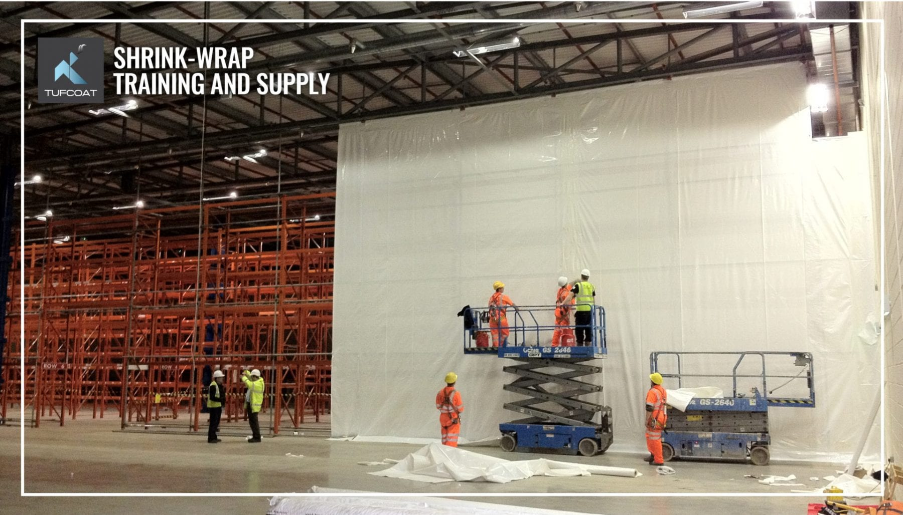 Tufcoat shrink-wrap training and supply