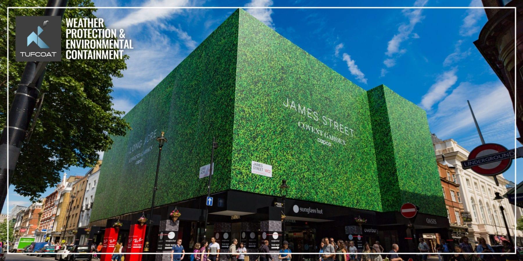 Regal House Mesh Building Wrap Covent Garden