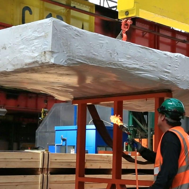Industrial shrink-wrap training